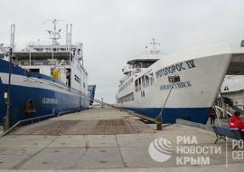 В Крыму ликвидируют оператора Керченской переправы