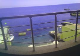 Эллинг в Утесе первая линия  - вид с балкона 4-и этаж
