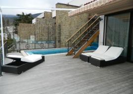 Дом с бассейном под ключ - Аренда коттеджа в Гурзуфе бассейн