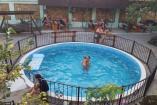 Крым Черноморское  гостиница   бассейн