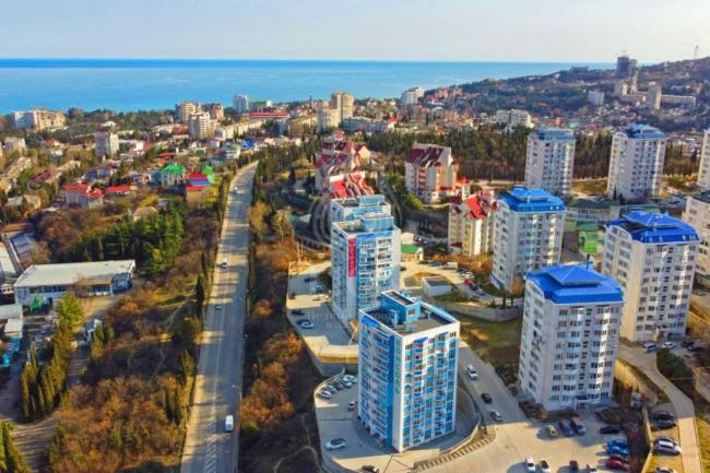 Крым недвижимость Алушта купить   2 квартиры улучшенной планировки в новом доме в Алуште Б. Хмельницкого
