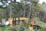 Ялта  отдых в горах  форель рыбалка Крым   4-х местный двухкомнатный деревянный домик-шале с баней