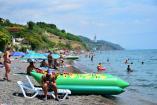 пляж    Крым База отдыха  Солнечногорское