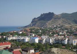 У горы Верблюд - Крым частный сектор Коктебель  отдых с детьми