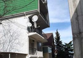 У Татьяны - фасад гостиницы