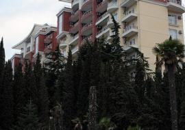 апартаменты возле  Курзала  - вид со стороны фасад