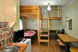 1-комнатная квартира в 2х уровнях  в Алуште  (7 спальных мест)